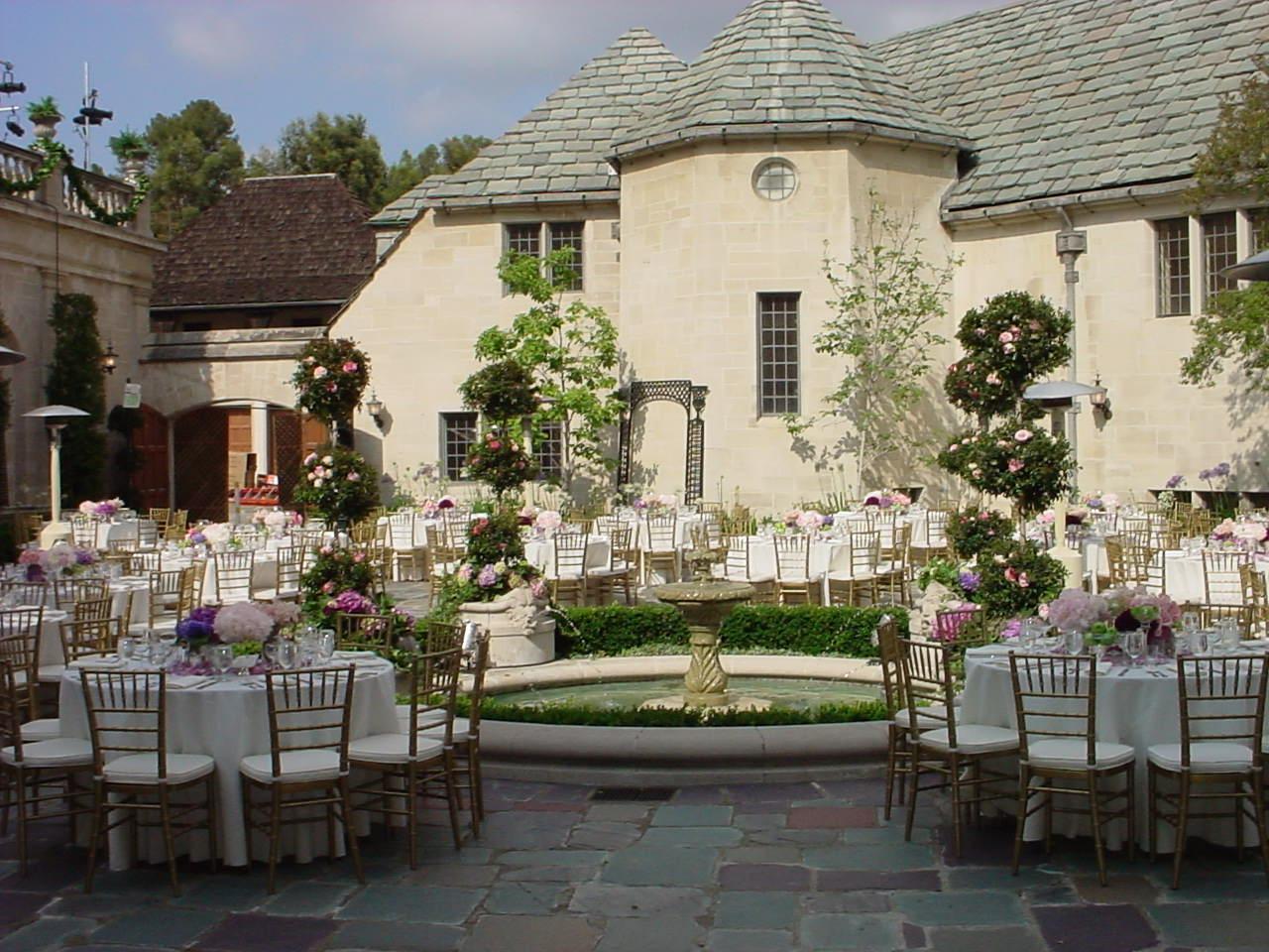 Inner Courtyard Greystone